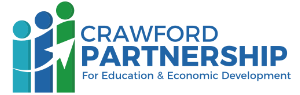 Crawford Partnership for Education & Economic Development Logo